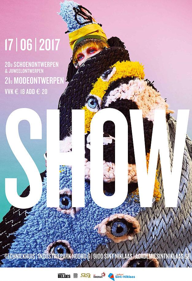 Belgische eindejaarsdefilés Sint-Niklaas mode