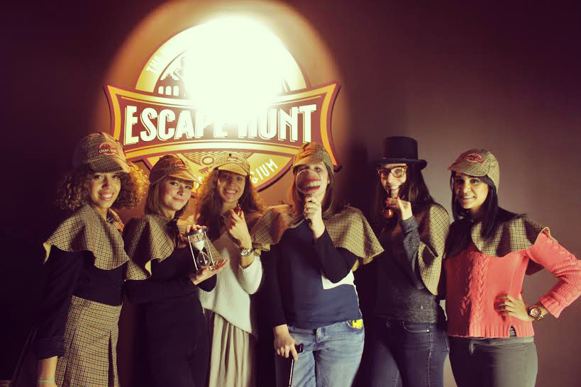 Escape rooms in Brussel The Escape Hunt