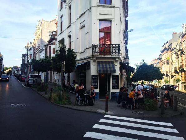 Leuke terrasjes in Brussel Le Petit Canon