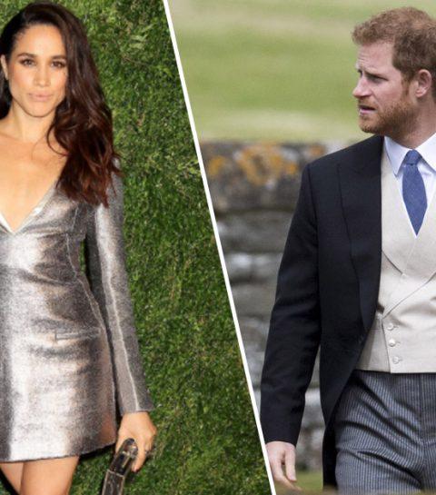 Zo schattig waren prins Harry en Meghan Markle op het huwelijk van Pippa