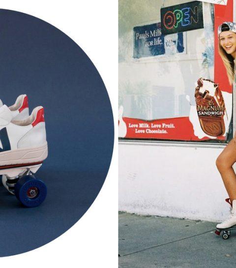 CRUSH: Rolschaatssneakers zijn nu een ding