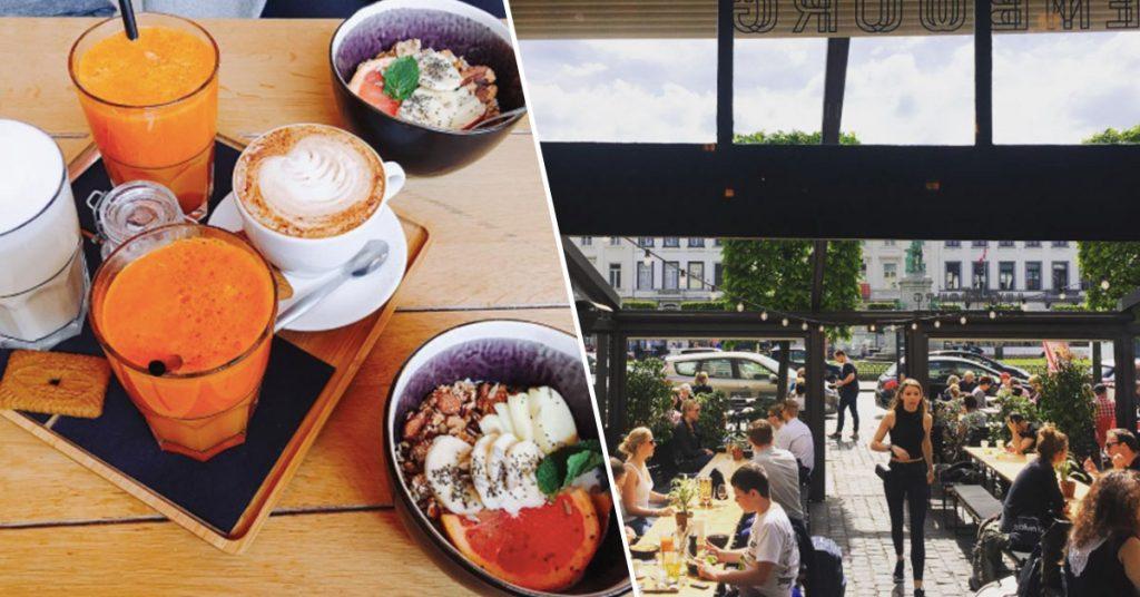 Terrasjes in Brussel Café Luxembourg