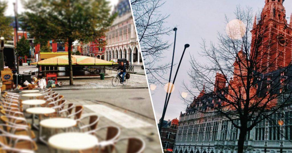 Terrasjes in Leuven Café Commerce