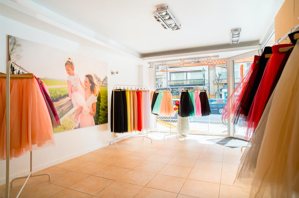 Pop-up van Tutu Shop in Knokke