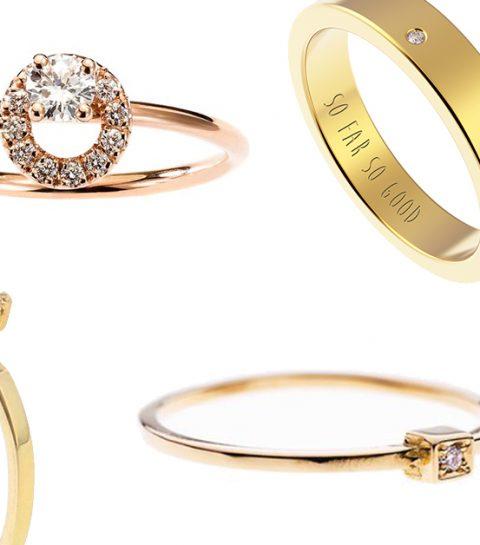 9 x Belgische en betaalbare verlovingsringen (mét diamanten)