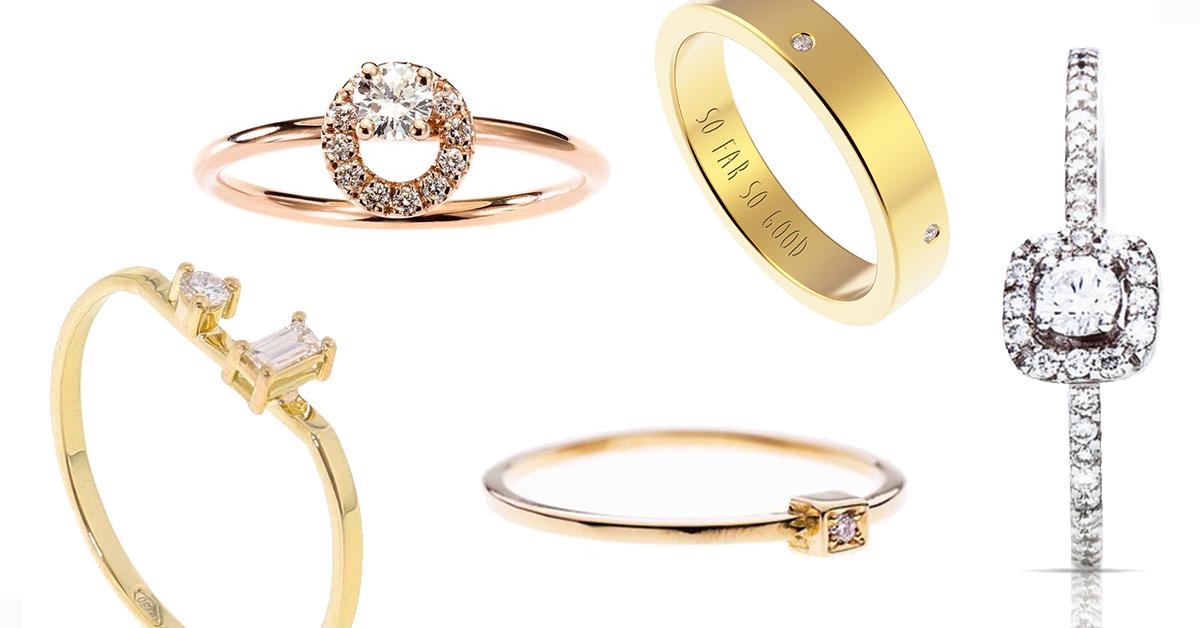 11 X Belgische En Betaalbare Verlovingsringen Met Diamanten