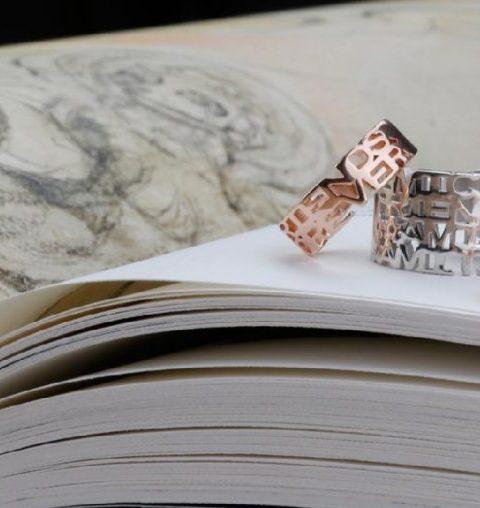 Hebben: de juwelen van de Words Jewelry-collectie