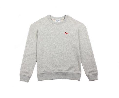 AmelieLensxCKS_sweater_grey_1€49,99