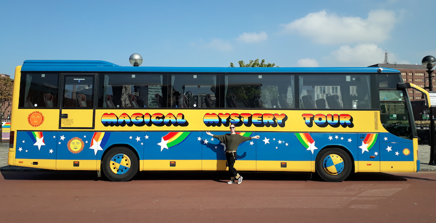 magical mystery tour beatles liverpool
