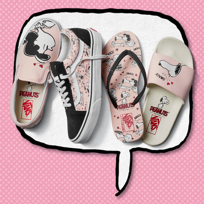 Vans,Peanuts,Snoopy,Charlie Brown,capsulecollectie,collab,sneakers,slip on,Vans x Peanuts