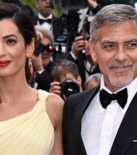 Het is gebeurd: de tweeling van George Clooney is geboren
