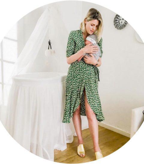 Op bezoek in de babykamer van Sofie Valkiers