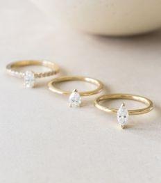 11 x Belgische en betaalbare verlovingsringen (mét diamanten)
