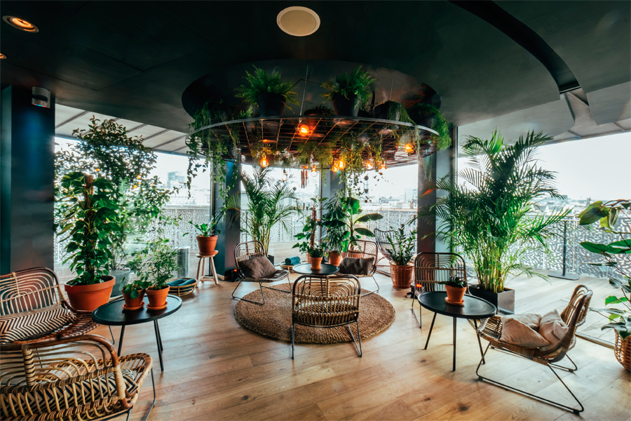 Brusselse hotspots la haut brussel rooftop bar