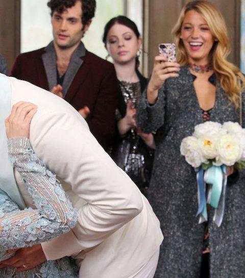 In beeld: deze Gossip Girl ster is getrouwd