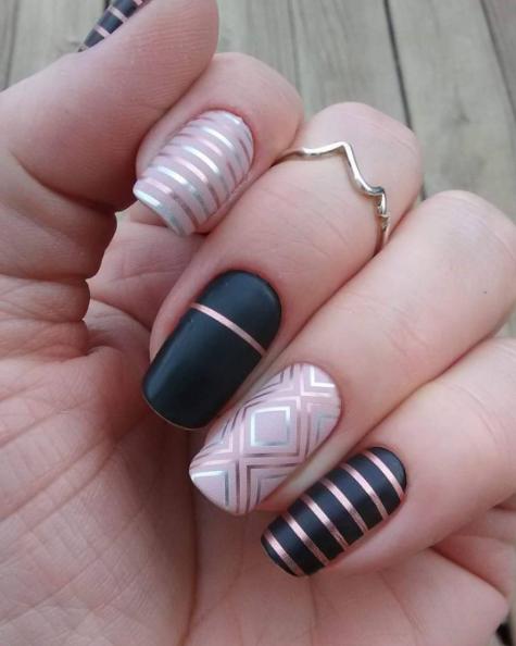 pinterest_beauty_trends_lob_athleisure_beauty_vitamine_C_nail_art_4