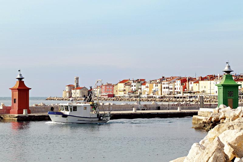 Piran, het Cannes van Slovenië in miniformaat