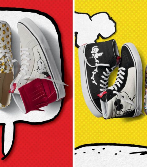 Crush van de dag: de 3de Vans x Peanuts collectie