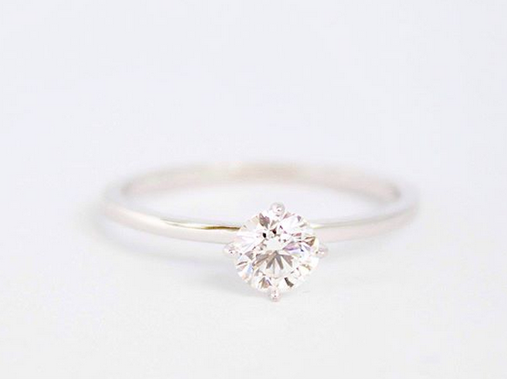 verlovingsring melanie van dooren belgische diamant