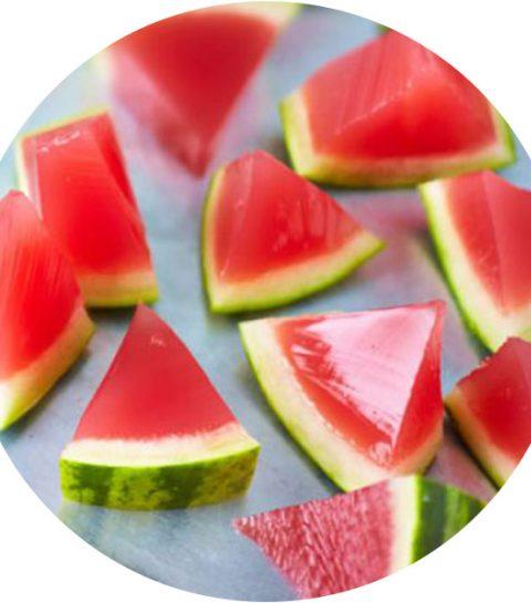 Recept: watermeloen jell-o shots zijn hét party drankje deze zomer