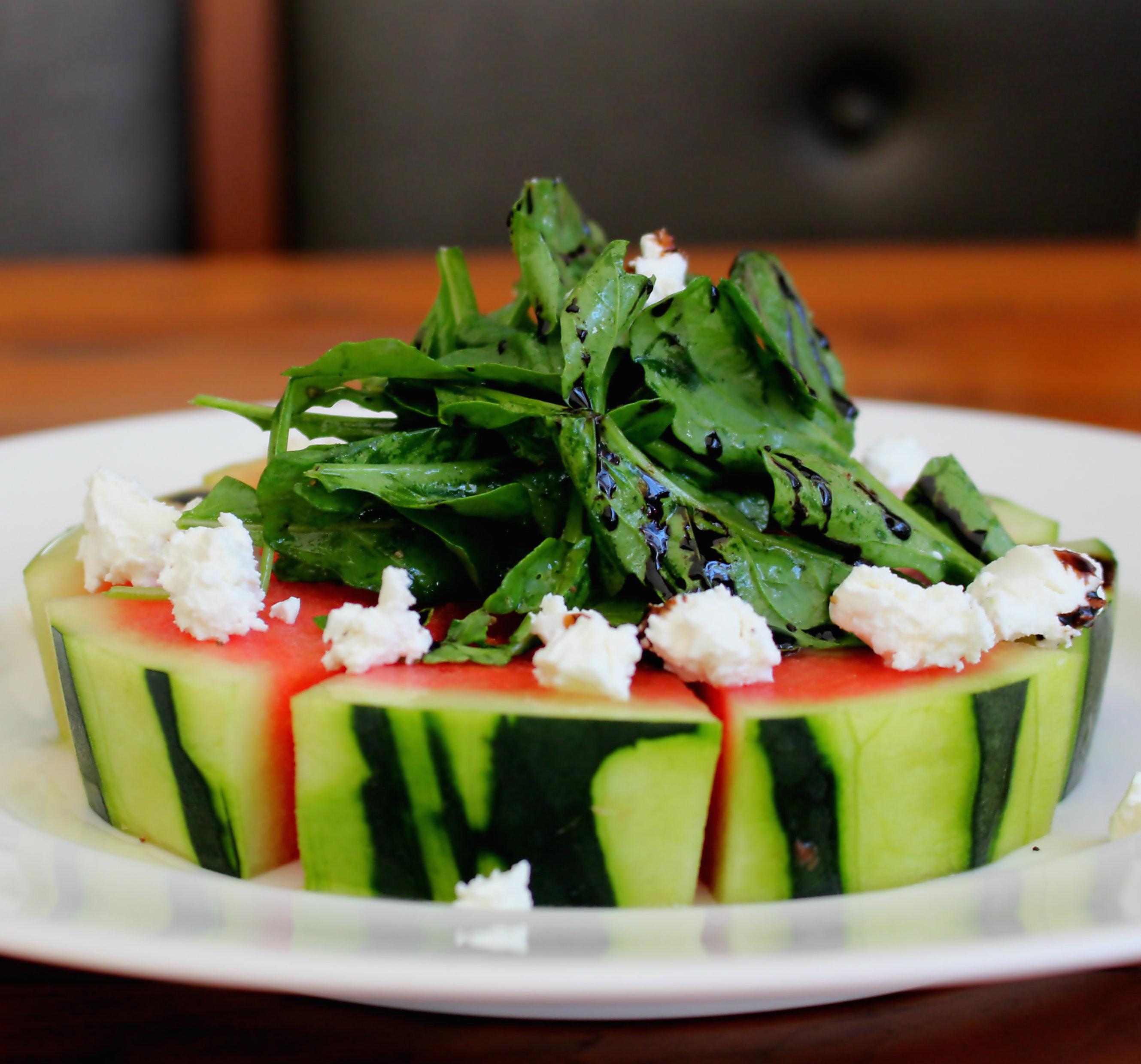 watermeloen, pizza, food, trend, zomer, fruit