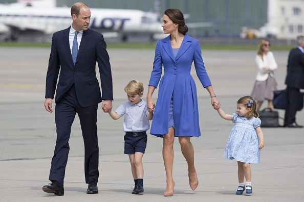 The Duke and Duchess of Cambridge departure from Poland