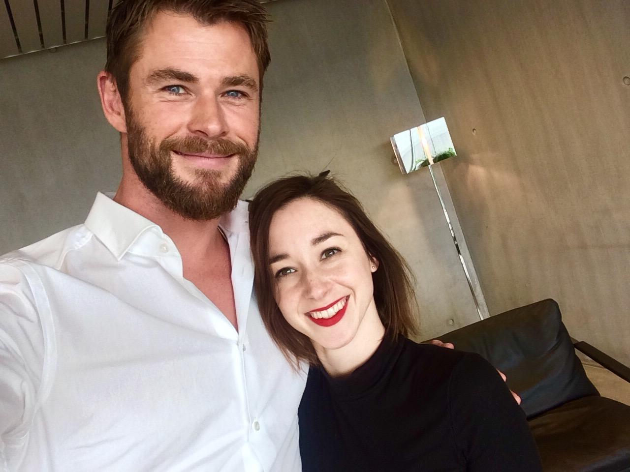 Hottie alert: wij mochten op de koffie bij Chris Hemsworth - 2