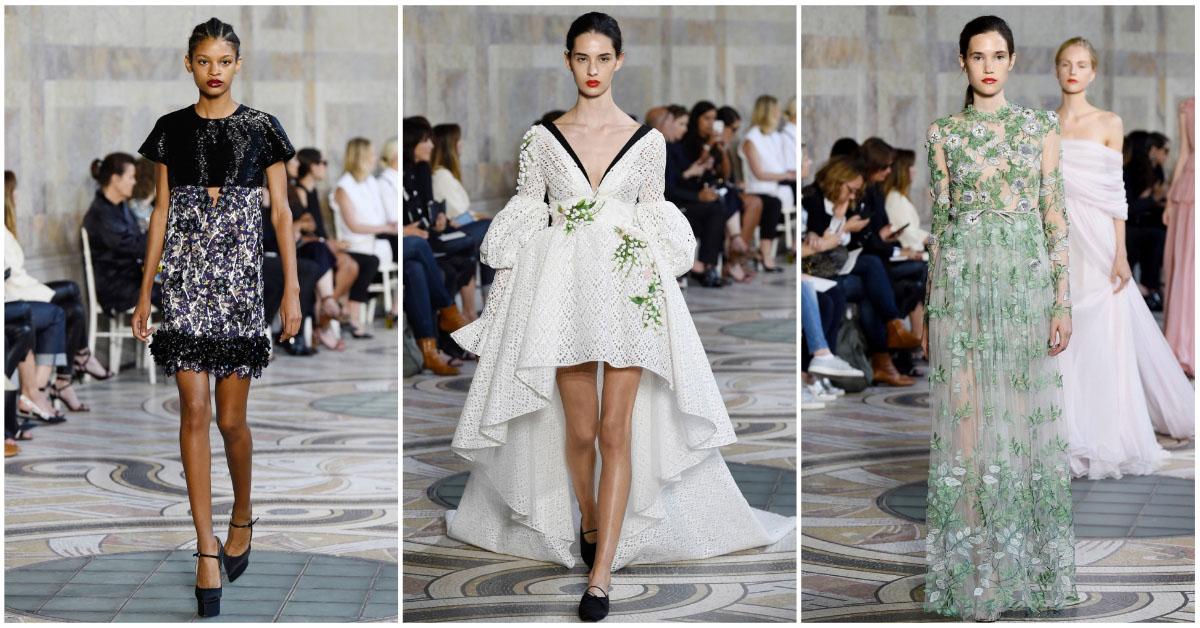 paris haute couture FW18 dior versace chanel giambattista valli