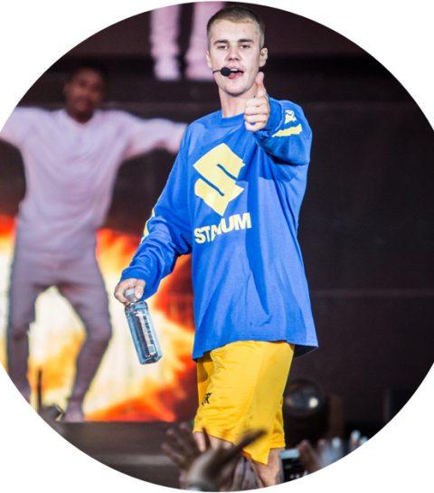 Justin Bieber zwicht opnieuw voor een Belgische