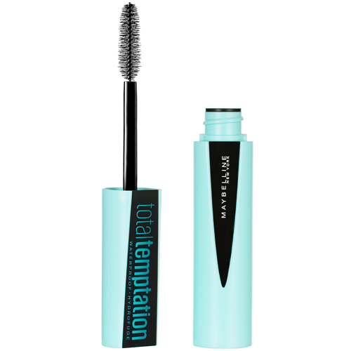 maybelline mascara total temptation waterproof very black