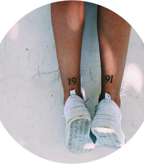 Deze tattootrend uit de nineties is helemaal terug van weggeweest
