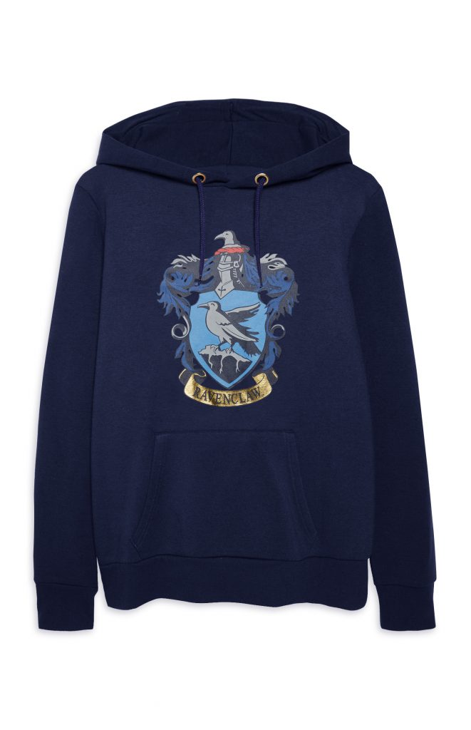 Primark_FW17_Harry Potter-0920301 -D8-Dtr Ravenclaw Hoody, UK C, ££12.00, €14, WK 45