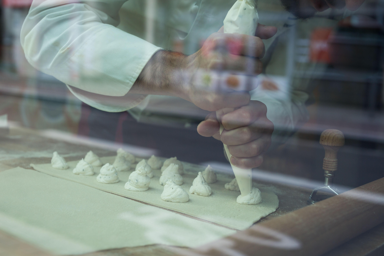 Recept van de Chef: Bottoni Cacio e Pepe van restaurant Racines - 2