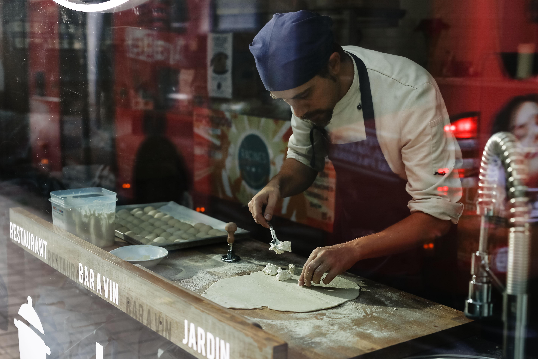 Recept van de Chef: Bottoni Cacio e Pepe van restaurant Racines - 1