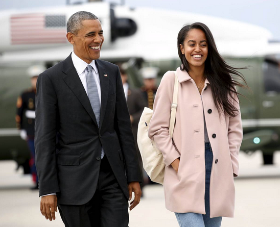 beroemdheden universiteit malia obama harvard