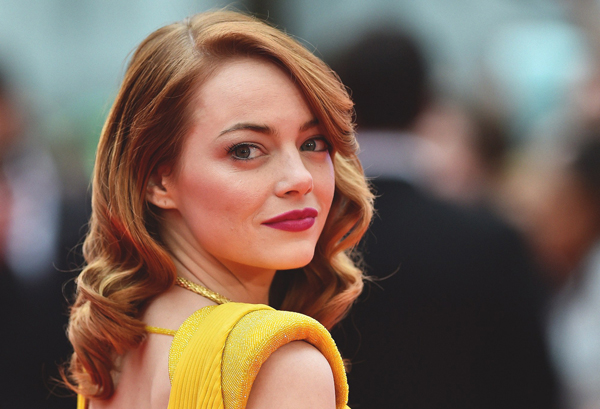 best betaalde hollywood actrice emma stone