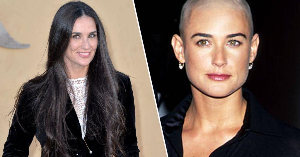 Coupe kaal: deze actrices schoren hun hoofd kaal voor een filmrol - 3