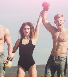 sporten calorieën verbranden fun bounce barre workout
