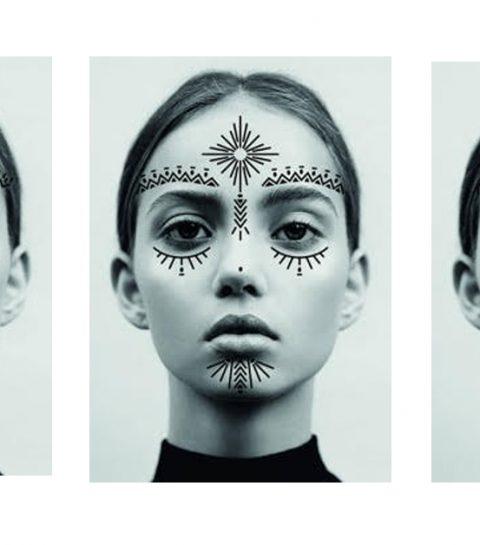 Vlaamse make-upartieste ontwerpt tijdelijke gezichtstattoos voor WECANDANCE