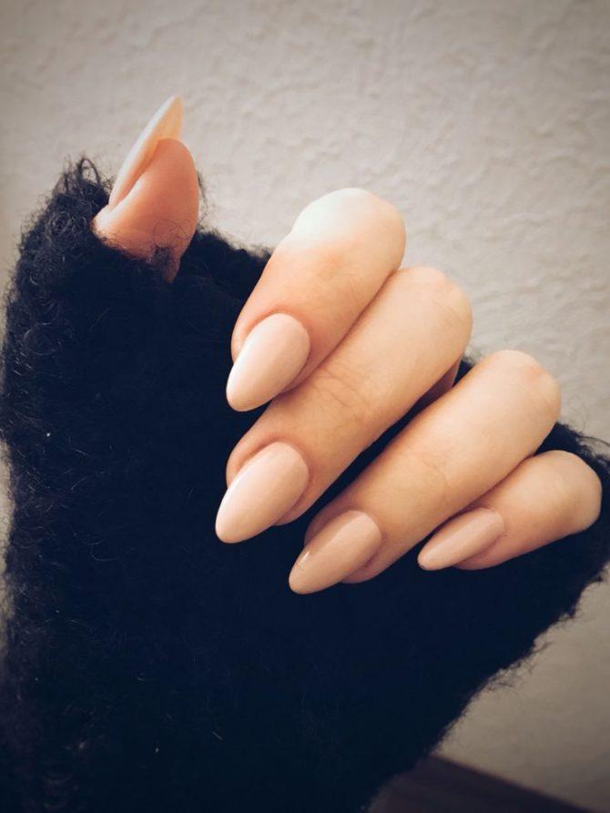 vorm nagels amandel