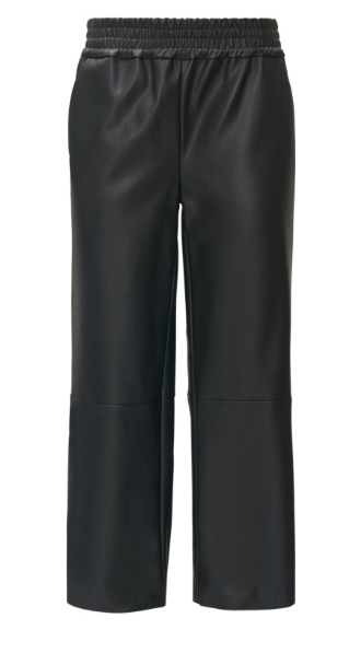CKS friday broek shopping leer leren pantalon zwart workwear