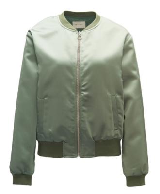 CKS friday vest shopping satijn bomber groen kaki workwear cool