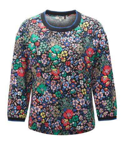 CKS women sweater trui bloemen print bloemenprint shop shopping