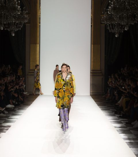 Paris fashion week: 'Cocktails at five' met Dries Van Noten
