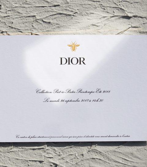 Volg hier live de SS18 show van Dior