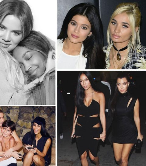 Wie zijn de sidekicks van de Kardashians?