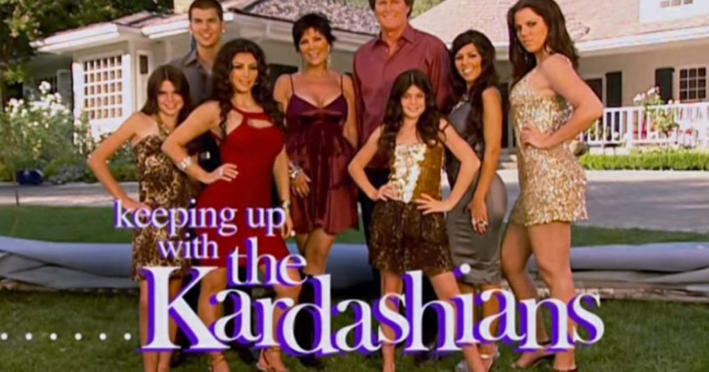 keeping up with the kardashians seizoen 1 intro