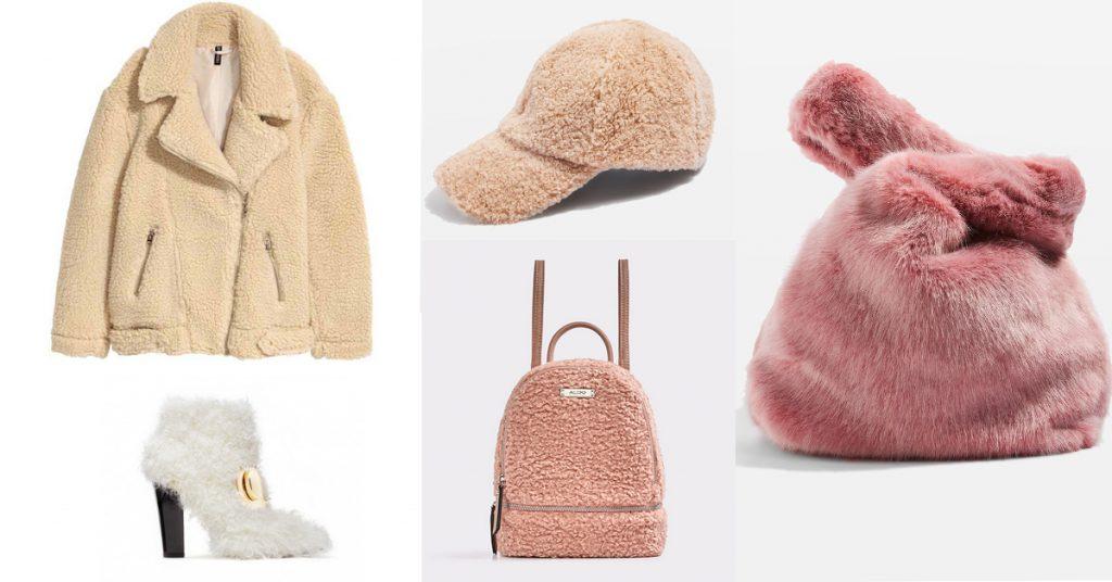 key pieces najaar 2017 trend faux fur teddy