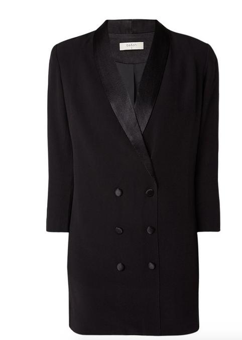 key pieces najaar 2017 tuxedo dress maje