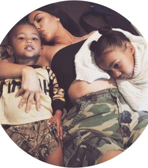 Dit is het geslacht van Kim Kardashians derde baby